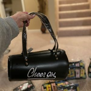 Megaphone cheerleader purse